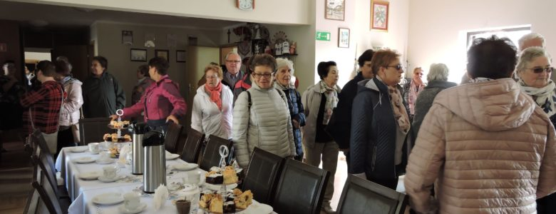 Wizyta seniorów z Lubasza