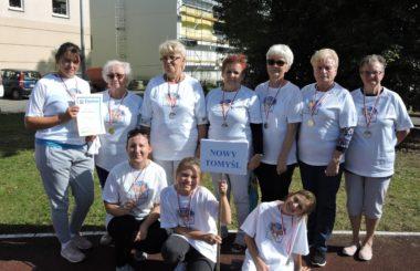 Seniorzy na Międzypokoleniowych  Igrzyskach Przyjaźni